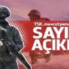 TSK, 15 Temmuz'dan sonra ilk kez personel sayısını açıkladı
