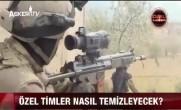JÖH'ler PÖH'ler Afrin'de Meskun Mahal Operasyonlarında