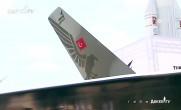 Milli savaş uçağının modeli Paris'te sergileniyor