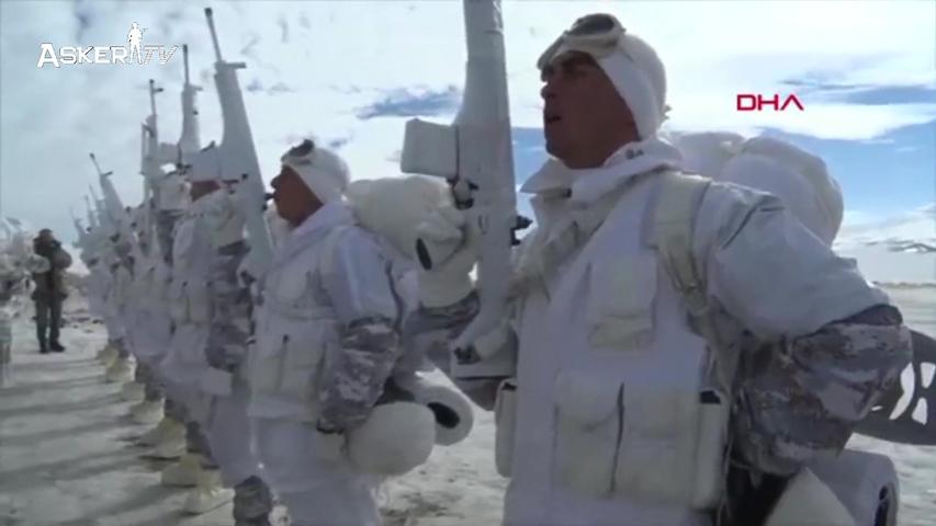 TSK'dan Kars'ta nefes kesen KIŞ 2019 TATBİKATI