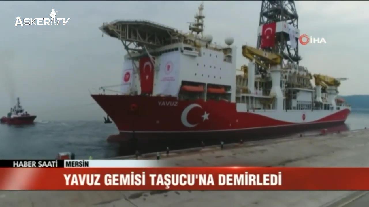 Yavuz Gemisi Taşucu'nda | YAVUZ GEMİSİ'NİN ÖZELLİKLERİ