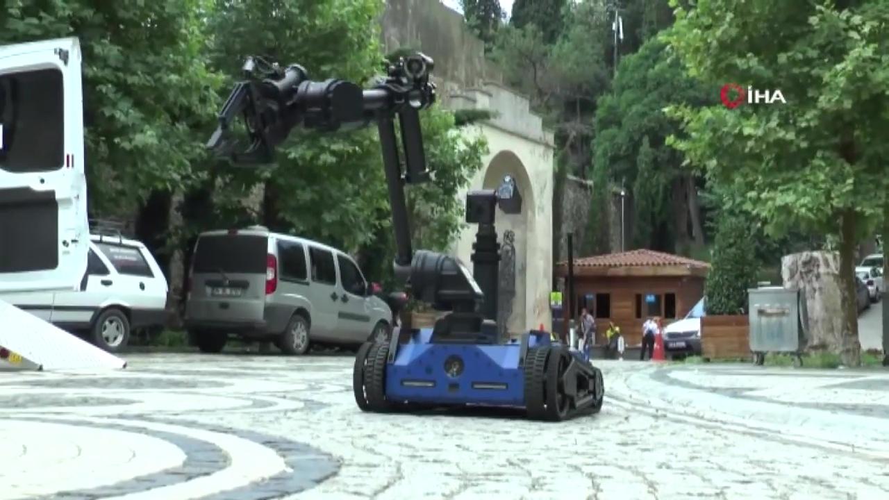 """Yerli ve Milli Bomba İmha Robotu """"Ertuğrul"""" Göreve Başladı"""