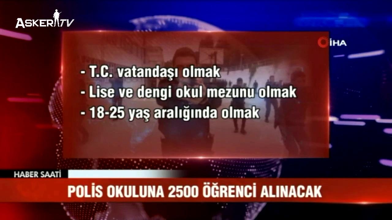 PMYO 2500 Polis Adayı Alımı Yapılacak
