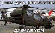 Türk ATAK Helikopteri Animasyon
