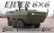 Ejder 6×6 Zırhlı Tekerlekli Araç