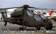Türk Taaruz Helikopteri T129 –  Milano