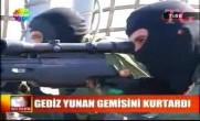 Türk SAT'ları Yunan Gemisini Kurtardı