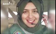 İşte Türkiye'nin ilk başörtülü kadın savaş pilotu