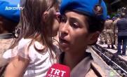Komando Kursunu ilk defa Kadın Kursiyer Birinci Tamamladı