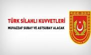 Türk Silahlı Kuvvetleri Muvazzaf Subay Alım İlanı