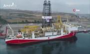Türkiye'nin Sondaj Gemisi Yavuz Doğu Akdeniz'e uğurlandı