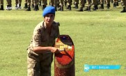 Kadın Subay Komando Kursunun birincisi oldu