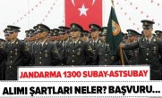 JANDARMA 1300 ERKEK ÖĞRENCİ ALACAK!