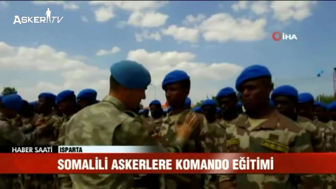 Somali'li Askerlere Komando Eğitimi